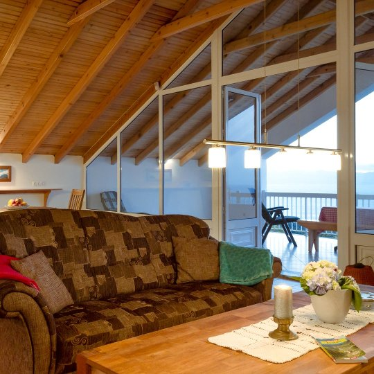 Azores Holiday Home on Pico Casa Atlantico Living Room