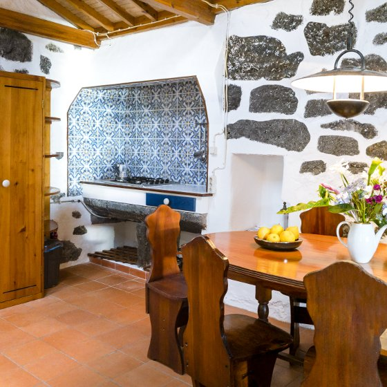 Azores Pico Holiday Accommodation Traditional House Kitchen