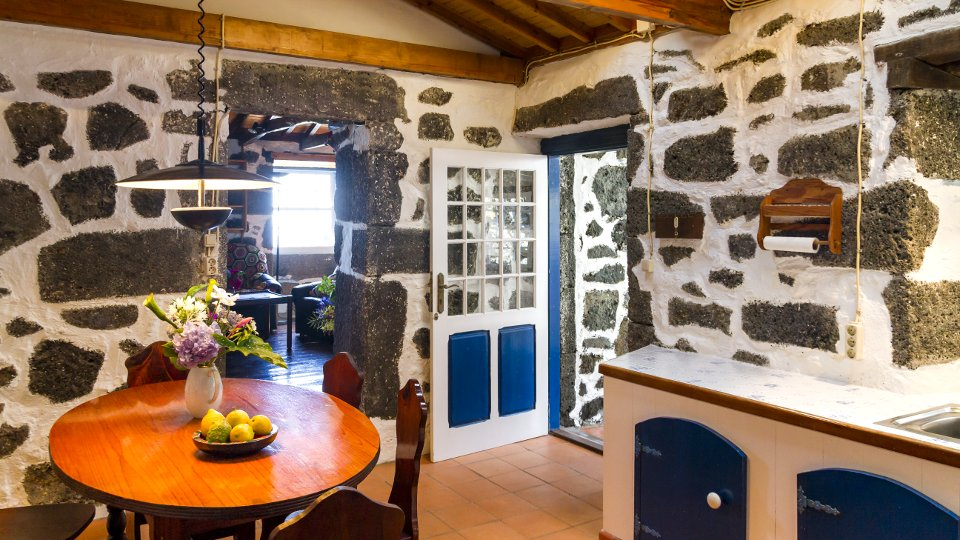 Azores Typical Stone House Holiday Home Privat Casa Azul