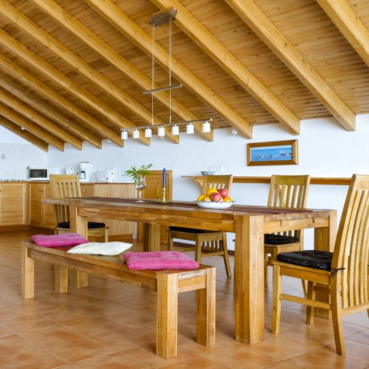 Pico Azores Holiday Home Casa Atlantico Dining Area