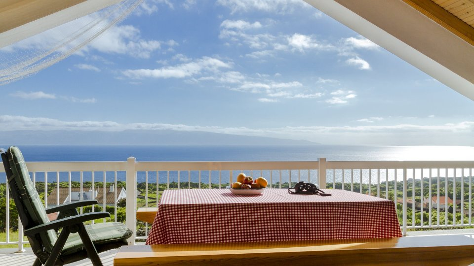 Pico Azores Holiday Home Casa Atlantico Terrace View