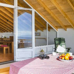 Pico Holiday Chalets Terrace